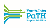 PaTH Youth Jobs Prepare Trial Hire logo