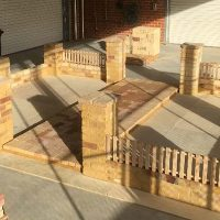 Try-A-Trade bricklaying project