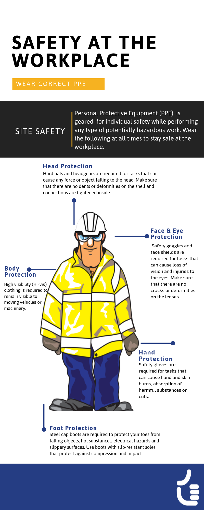 safety at the workplace